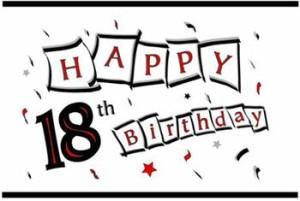 pjesme za 18 rođendan SMS poruke, stihovi i čestitke za 18.rodjendan – punoletstvo pjesme za 18 rođendan
